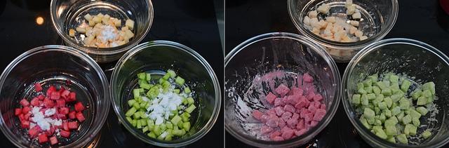 cách làm chè sương sa hạt lựu 4