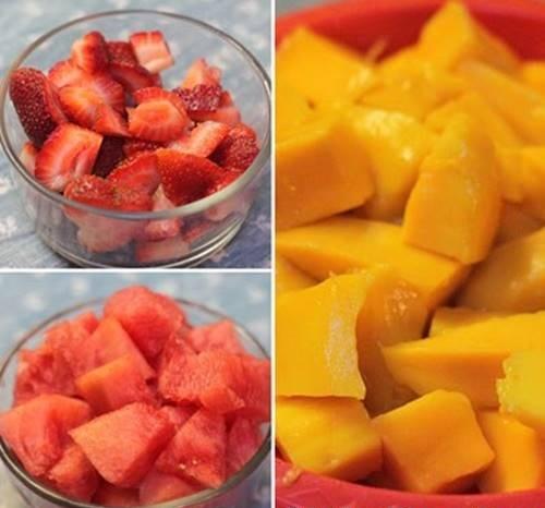 cách làm chè trái cây 4
