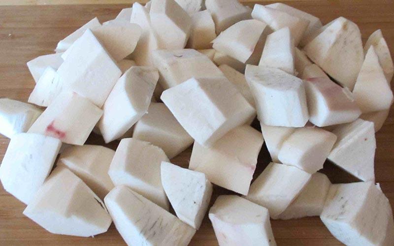 cách nấu chè chuối nước cốt dừa 3