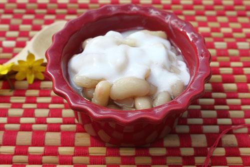 cách nấu chè đậu trắng nước cốt dừa