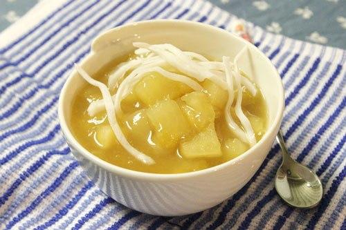 Cách nấu chè sắn gừng ngon ngây ngất cho mùa Đông