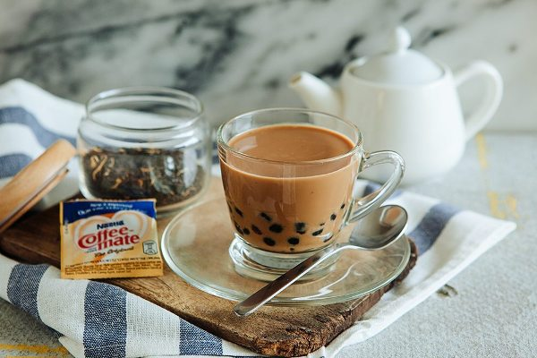 Cách làm hồng trà sữa