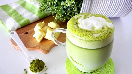 Cách làm trã sữa thái vị trà xanh