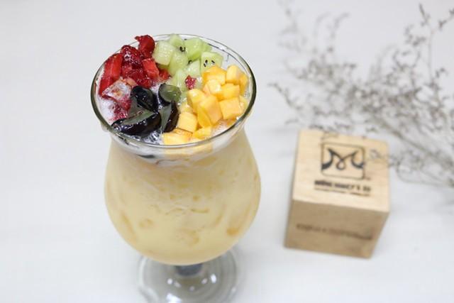 cách làm trà sữa thạch trái cây