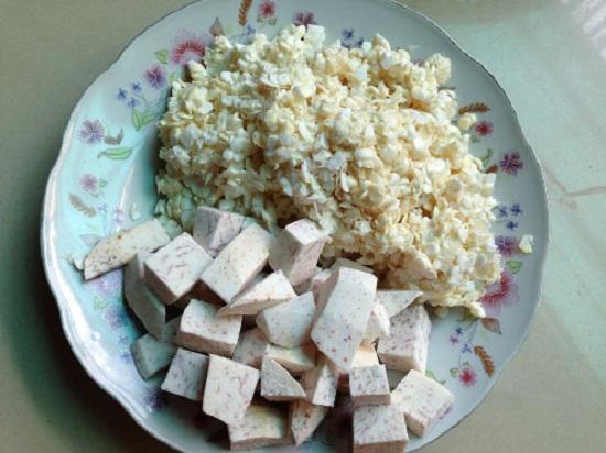 cách nấu chè ngô khoai sọ