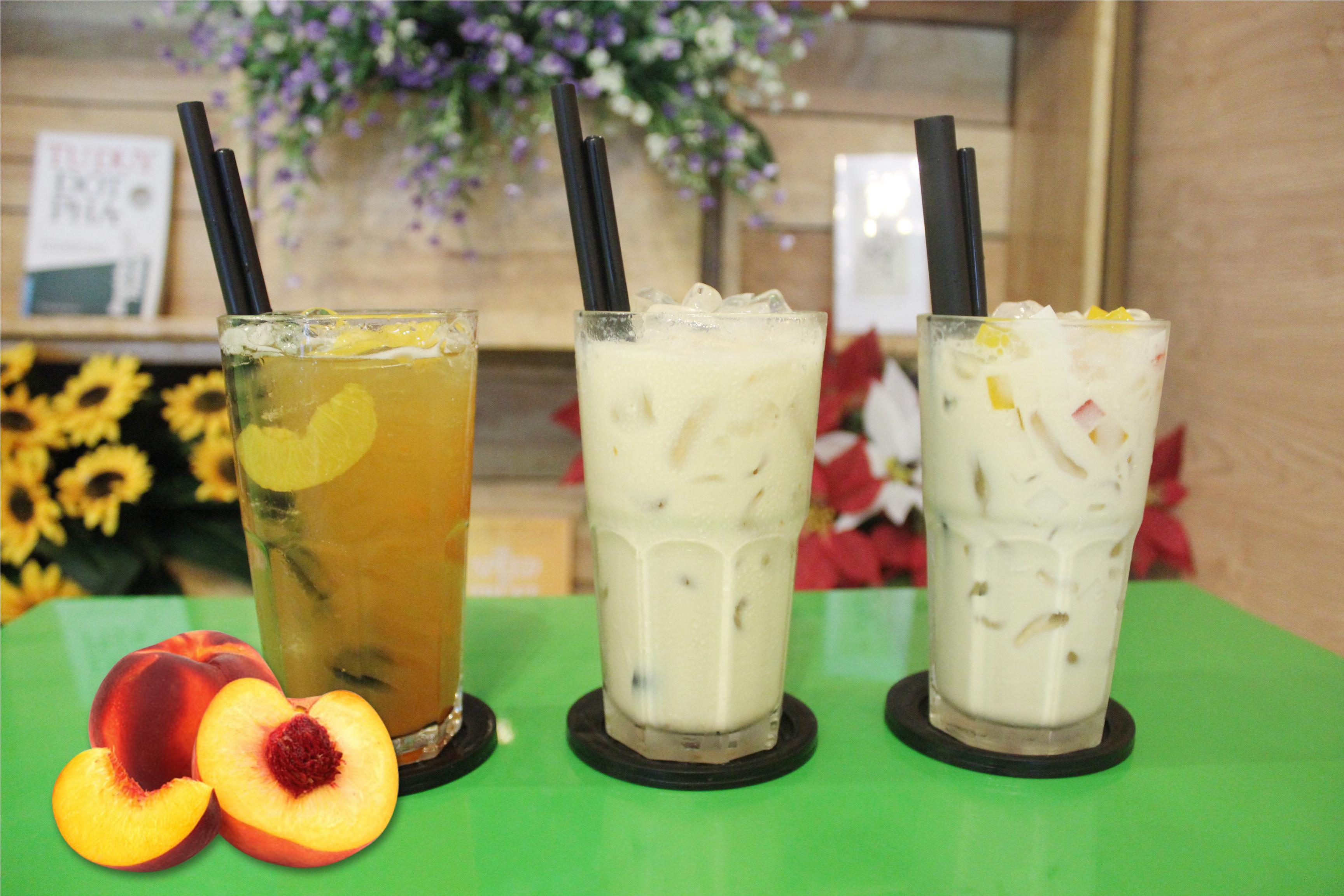 trà sữa thạch trái cây