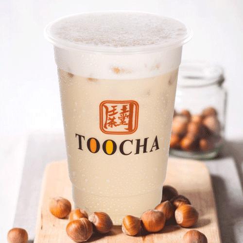 CÁch pha trà sữa hạt dẻ Nutella 1