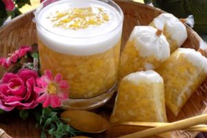Cách nấu chè bắp với nước cốt dừa ngon khó quên