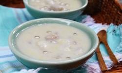 Cách nấu chè đậu xanh bột khoai ấm áp tình gia đình