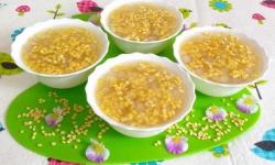 Bí quyết nấu chè hoa cau bột lọc chuẩn vị