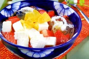 Cách nấu chè khúc bạch trái cây hoa quả đơn giản nhất tại nhà