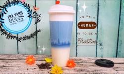Hướng dẫn cách pha trà sữa đại dương 3 tầng nghệ thuật