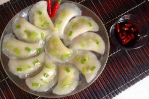 Share cách làm bánh bột lọc nhân đậu xanh chuẩn vị