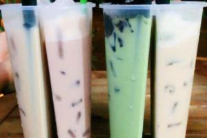 Trà sữa 2 ngăn cực hot uống không biết chán, bạn đã thử chưa?