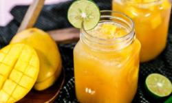 Vừa ngon vừa bổ dưỡng với cách pha trà xoài nhiệt đới