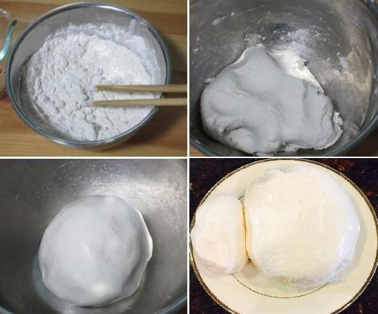 Nhào bột và làm bánh