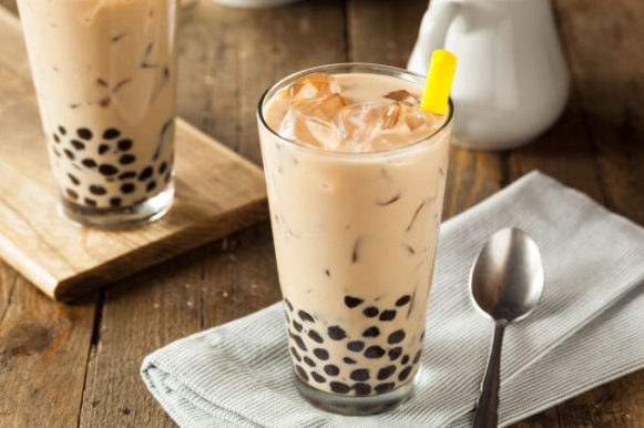 hoàn thành trà sữa hokkaido